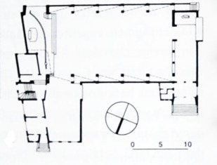 Nes Church-plan