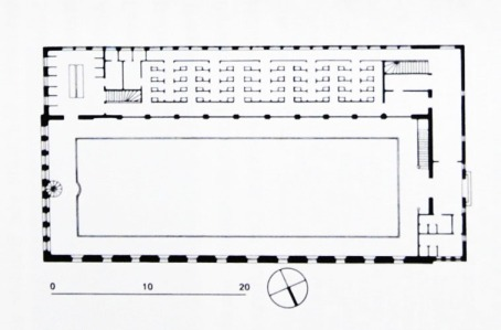 Reyklavik municipal pool-plan